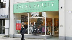 Laura Ashley is one of the first to announce permanent closures since the coronavirus outbreak (Martin Rickett/PA)