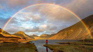 Finding Gold by Mark Gilligan of Wast Water, in Cumbria (Take A View/PA)