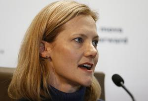 Catherine McGown, the wife of Stephen McGown (AP)