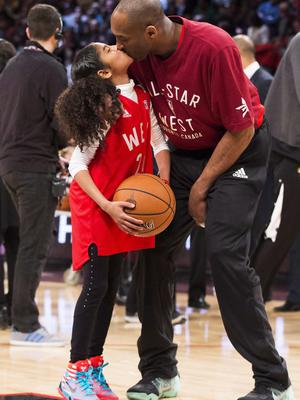 Bryant's 13-year-old daughter Gianna also died in the crash (Mark Blinch/The Canadian Press via AP)