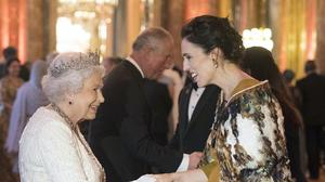 The Queen greets Jacinda Ardern, Prime Minister of New Zealand, at Buckingham Palace in 2018 (Victoria Jones/PA)