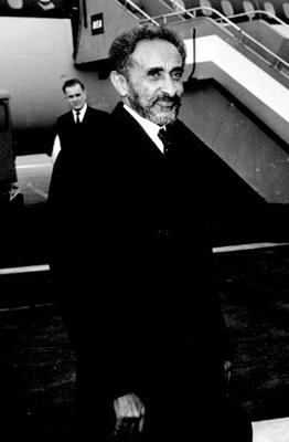 Haile Selassie visited the UK in 1965 (PA Archive)