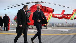 The Duke of Cambridge has given permission for air ambulance helicopters to land on a site near Kensington Palace (Ian Vogler/Daily Mirror)