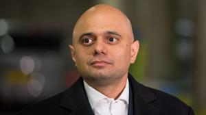 Home Secretary Sajid Javid announced plans to strengthen police stop and search powers (Dominic Lipinski/PA)