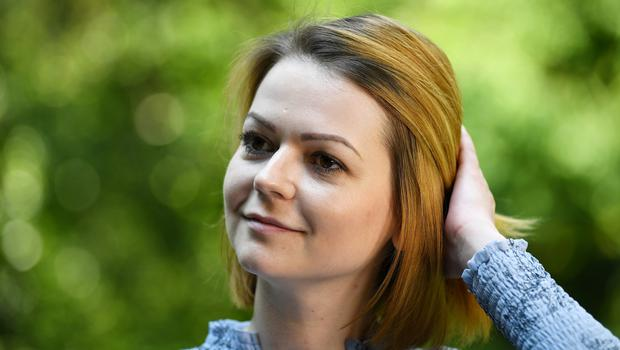 Yulia Skripal has said she wants to return to Russia 'in the longer term' (Dylan Martinez/PA)