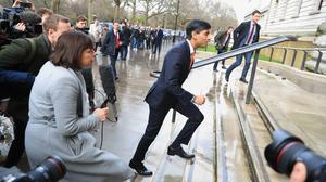 Rishi Sunak is preparing to give his first Budget since being appointed Chancellor last month (Aaron Chown/PA)