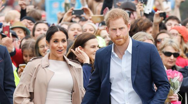 The Duke and Duchess of Sussex are preparing to welcome their new arrival soon (Chris Jackson/PA)