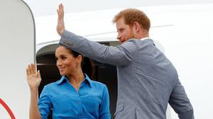 The Duke and Duchess of Sussex (Phil Noble/PA)