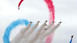 Red Arrows will perform on Armed Forces Day (Gareth Fuller/PA)