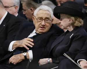 Henry Kissinger was among those who vouched for Conrad Black (Kirsty Wigglesworth/PA)