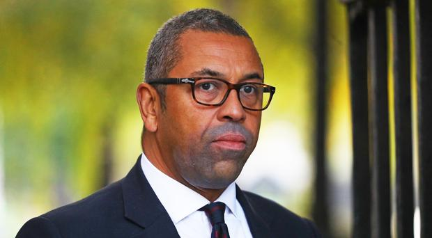 Conservative Party Chairman James Cleverly (PA)
