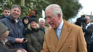 As heir to the throne, Charles is entitled to the surplus income generated by the Duchy of Cornwall's vast portfolio of land, buildings and financial investments (Jacob King/PA)