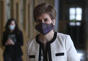First Minister Nicola Sturgeon said there was no evidence to support Alex Salmond's claims (Fraser Bremner/Daily Mail/PA)