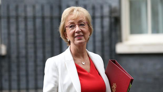 Business Secretary Andrea Leadsom has said she is 'minded to accept' undertakings which would secure the sale of UK defence firm Cobham for £4bn (Jonathan Brady/PA)