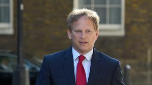 Grant Shapps said more pupils from disadvantaged backgrounds have been accepted to university than last year (PA)