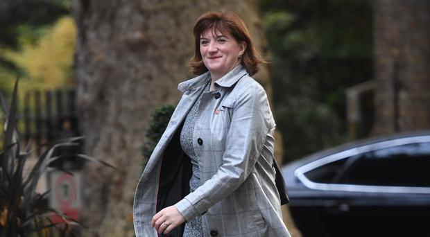 Digital, Culture, Media and Sport Secretary Nicky Morgan (Kirsty O'Connor/PA)