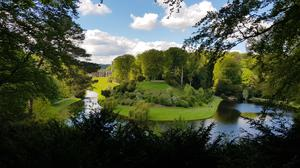 Studley Royal Water Garden in the Skell Valley is at risk from flooding (National Trust/Chris Lacey/PA)