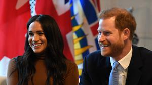 Harry and Meghan are president and vice-president of the Queen's Commonwealth Trust (PA)