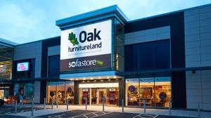 Oak furnitureland has been saved from collapse although the future of the 105 stores remains unclear. (Oak furnitureland / PA)