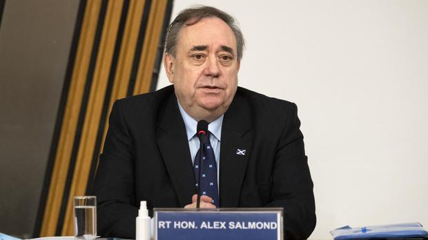 Former first minister Alex Salmond gave evidence to the inquiry last week (Andy Buchanan/PA)