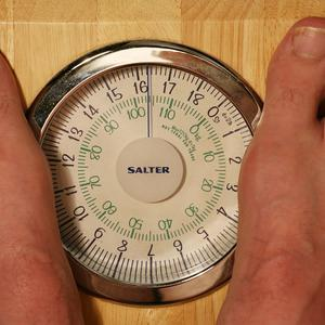 The body mass index is calculated using height and weight