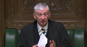 Speaker of the House of Commons Sir Lindsay Hoyle (PA)