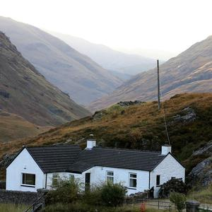 The cottage in Glencoe owned by Jimmy Savile