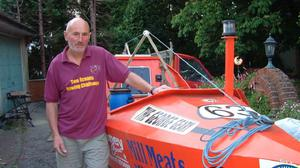 Graham Walters, 72, is set to become the oldest person to row the Atlantic (Help for Heroes/PA)