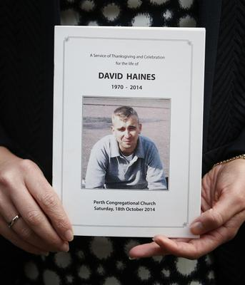 Humanitarian David Haines was murdered in 2014 (Danny Lawson/PA)