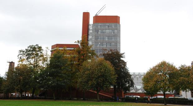 The University of Leicester's Engineering Building (Joe Giddens/PA)