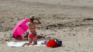 British beaches could be busier than ever this summer (Peter Byrne/PA)