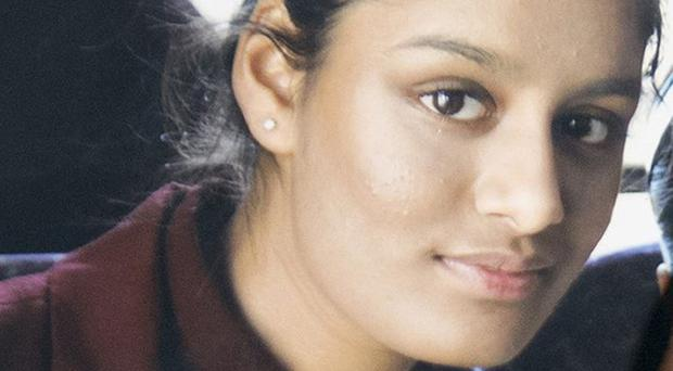 Shamima Begum who is bringing proceedings against the Home Office (PA)