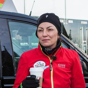 Davina McCall has battled wind and rain in a series of arduous back-to-back feats of endurance for the BT Sport Relief Challenge: Davina - Beyond Breaking Point (Sport Relief/PA)