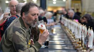 Goat's Milk has been voted the best beer in Britain by CAMRA ( John Stillwell/PA)