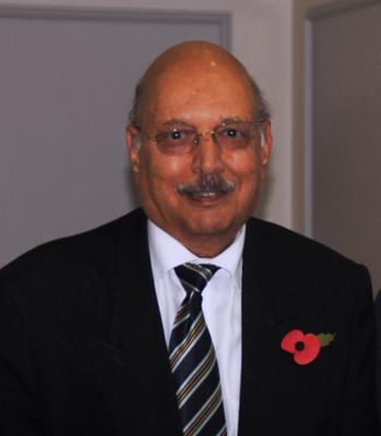 Dr Habib Zaidi, 76, was a GP in Leigh-on-Sea for more than 47 years (NHS Southend/PA)