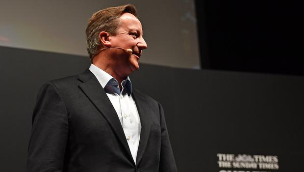 David Cameron has turned down an invitation to become president of the COP26 climate summit (Jacob King/PA)