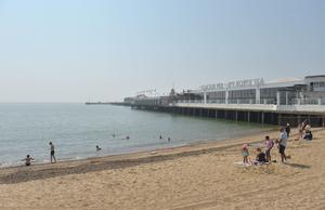 Clacton Pier's director said the accolade is the 'perfect morale booster' (Nick Ansell/PA)