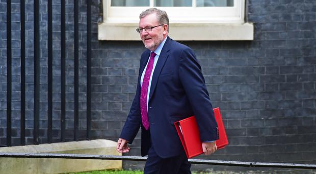 David Mundell said he was 'disappointed' to be leaving government after Boris Johnson became PM (David Mirzoeff/PA)