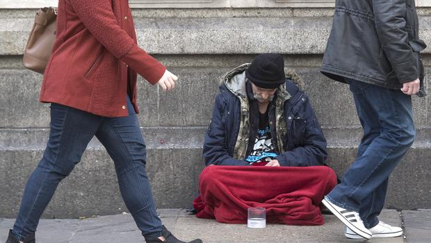 """The Foyle constituency had the highest number of people with """"Full Duty Applicant"""" homeless status (PA)"""