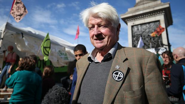 Stanley Johnson, father of Prime Minister, Boris Johnson (Jonathan Brady/PA)