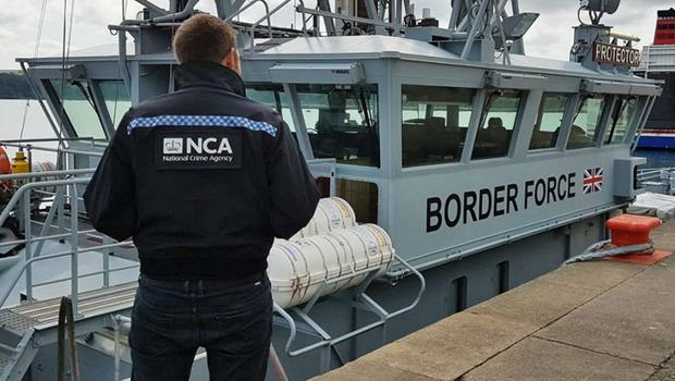 Cocaine worth at least £60 million was seized (National Crime Agency/PA)