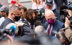 Johnny Depp arrives at the High Court (Dominic Lipinski/PA)