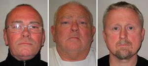 Carl Wood, William Lincoln and Hugh Doyle were convicted by jury