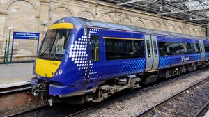 Changes will be similar to a Sunday service with some additional first and late last trains for key staff (Jane Barlow/PA)