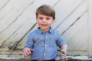 Louis is photographed by mum Kate for his second birthday. Duchess of Cambridge