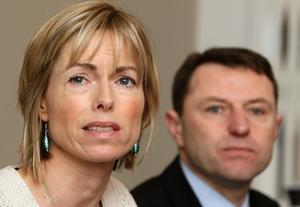 Kate and Gerry McCann in 2010 (Dominic Lipinski/PA)