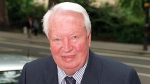 Former premier Sir Edward Heath