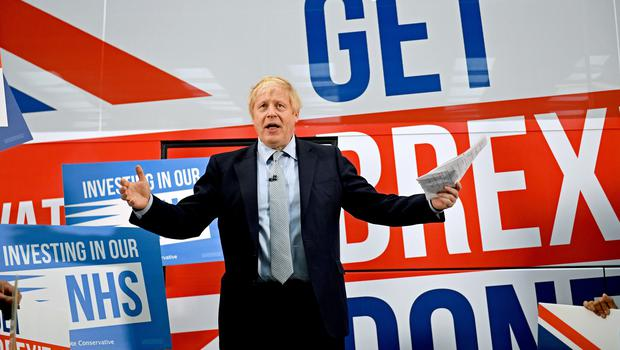 Boris Johnson is to launch the Conservative Party General Election manifesto (Stefan Rousseau/PA)