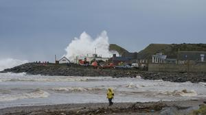 Coastal communities vulnerable to flooding will be covered by Sepa's warning scheme (Sepa/PA)