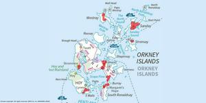 Eleven areas of Orkney will be covered by the flood warning service (Sepa)